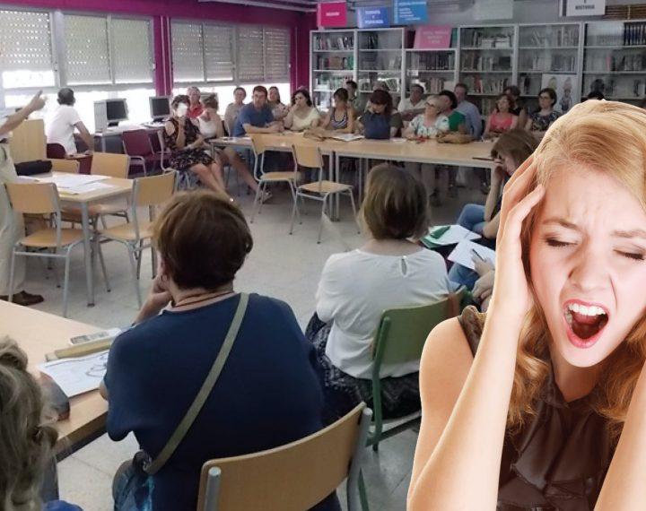 Nueve de cada diez docentes sufren claustrofobia durante la última semana de junio, según un estudio