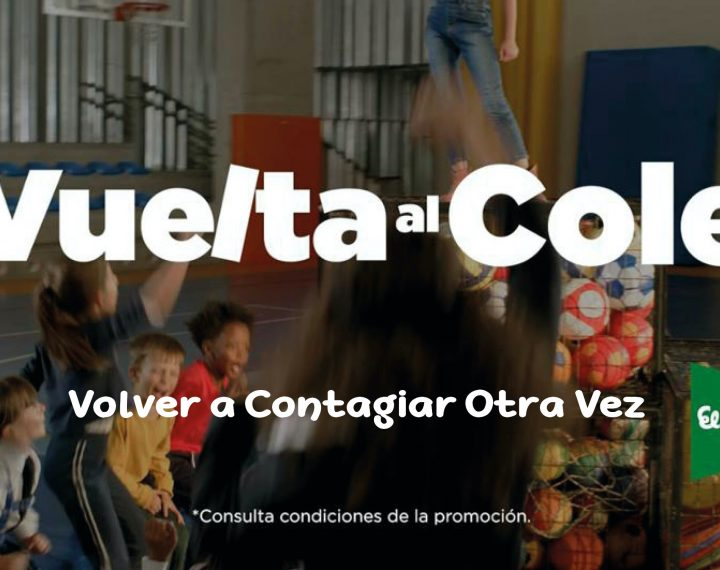 """El Corte Inglés prepara """"Volver a Contagiar Otra Vez"""", su campaña publicitaria para la vuelta al cole"""