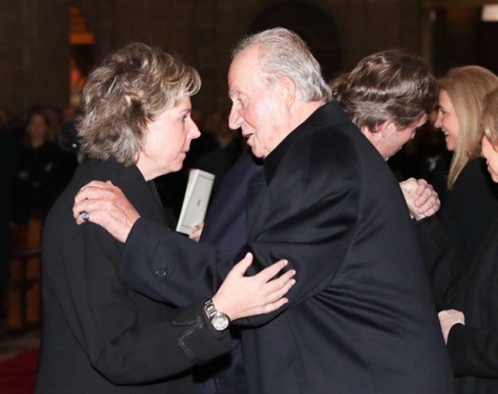 Un colegio público recibe una donación de 65 millones de euros después de que su directora saludase amablemente al rey emérito Juan Carlos I